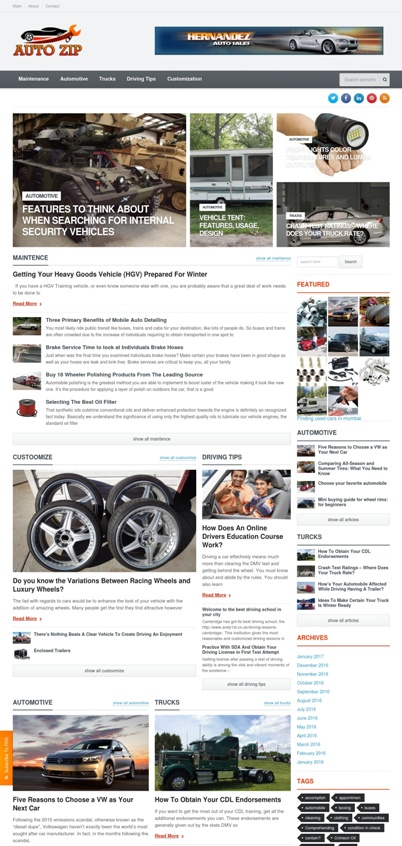 Automobile Guest Post Site Sample
